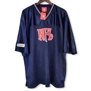 NFL Official Jersey Short Sleeve Blue Adult OS